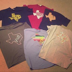 Tops - Bundle of Texas tees